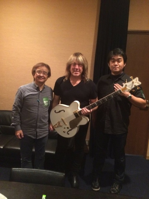 Andy with Reps from Gretsch Japan