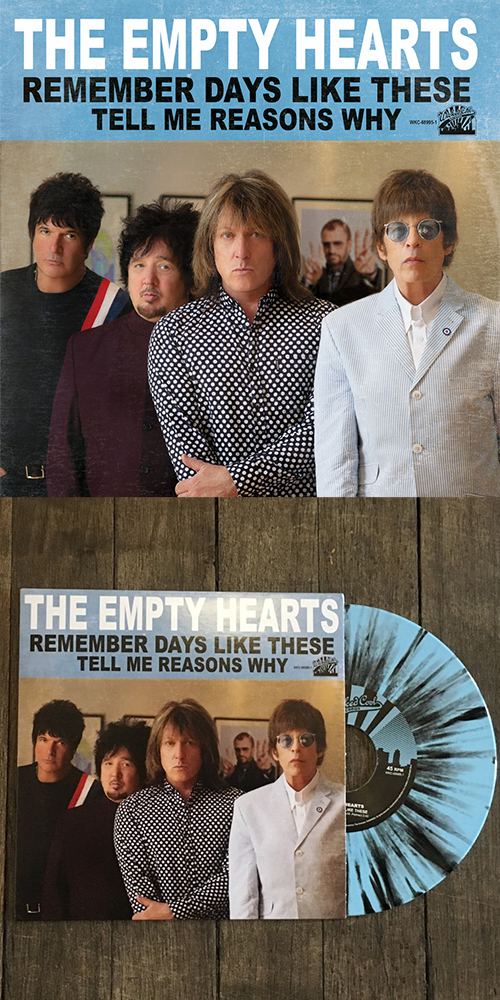 The Empty Hearts new single Remember Days Like These